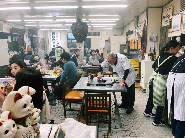老舗のホルモン焼き西龍恵土支店[名古屋市南区]