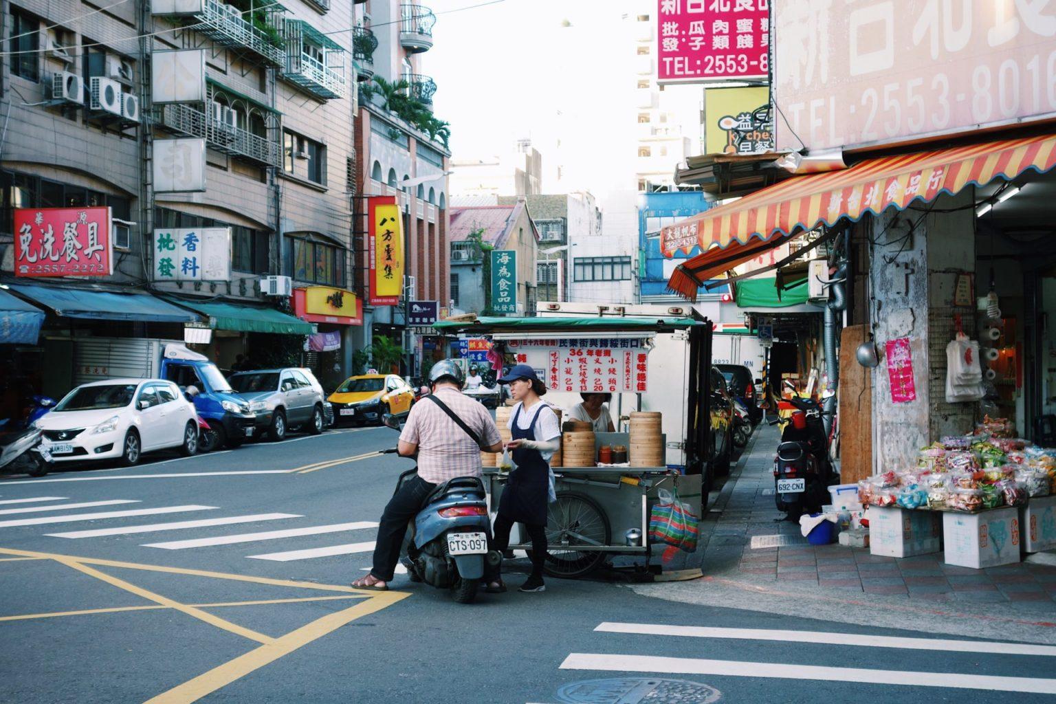 台湾台北油化街/旅行